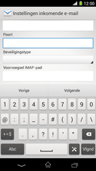Sony C6903 Xperia Z1 - E-mail - Handmatig instellen - Stap 10
