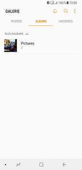 Samsung Galaxy A8 - Photos, vidéos, musique - Envoyer une photo via Bluetooth - Étape 6