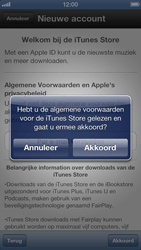 Apple iPhone 5 - Applicaties - Account aanmaken - Stap 7
