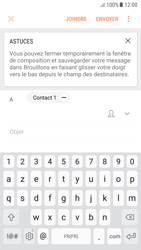 Samsung Galaxy A3 (2016) - Android Nougat - E-mail - envoyer un e-mail - Étape 8