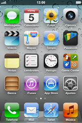 Apple iPhone iOS 5 - Wi-Fi - Como configurar uma rede wi fi - Etapa 1