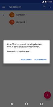 Nokia 7 Plus - Contactgegevens overzetten - delen via Bluetooth - Stap 11