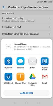 Huawei P Smart (Model FIG-LX1) - Contacten en data - Contacten overzetten via Bluetooth - Stap 8