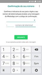 Samsung Galaxy A5 (2017) - Aplicações - Como configurar o WhatsApp -  9