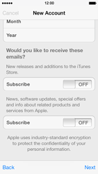 Apple iPhone 5 iOS 7 - Applications - Downloading applications - Step 17