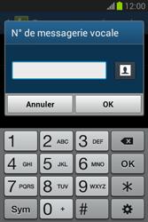 Samsung S6790 Galaxy Fame Lite - Messagerie vocale - configuration manuelle - Étape 9