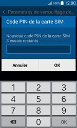Samsung Galaxy Trend 2 Lite - Sécuriser votre mobile - Personnaliser le code PIN de votre carte SIM - Étape 8