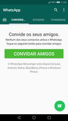 Huawei P10 - Aplicações - Como configurar o WhatsApp -  15