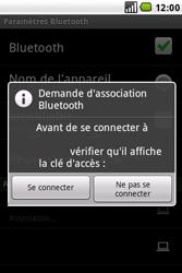 LG GW620 - Bluetooth - connexion Bluetooth - Étape 11