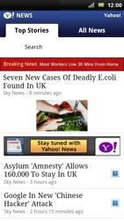Sony Ericsson Xperia Arc - Internet - Internet browsing - Step 11