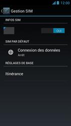 Acer Liquid Z5 - Internet - Activer ou désactiver - Étape 7