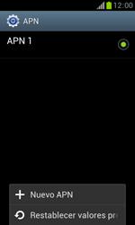Samsung S7560 Galaxy Trend - Mensajería - Configurar el equipo para mensajes multimedia - Paso 8