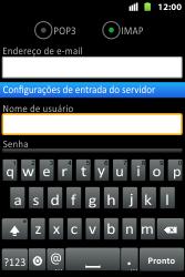 Huawei U8667 - Email - Como configurar seu celular para receber e enviar e-mails - Etapa 9