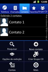 Huawei U8667 - Chamadas - Como bloquear chamadas de um número específico - Etapa 7