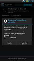 HTC Desire 516 - Bluetooth - Jumeler avec un appareil - Étape 7