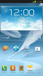 Samsung N7100 Galaxy Note II - E-mail - Manual configuration - Step 2