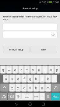 Huawei Mate S - Email - Manual configuration - Step 7