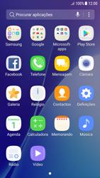 Samsung Galaxy A5 (2016) - Android Nougat - SMS - Como configurar o centro de mensagens -  3