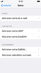 Apple iPhone 5s - iOS 12 - Email - Configurar a conta de Email -  7