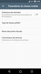 Sony Xperia XZ Premium - Aller plus loin - Désactiver les données à l'étranger - Étape 7