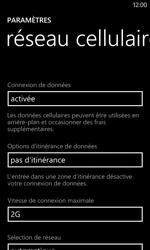 Nokia Lumia 520 - Réseau - Changer mode réseau - Étape 7