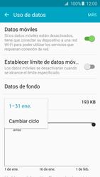 Samsung Galaxy A5 (2016) - Internet - Ver uso de datos - Paso 6