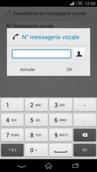 Sony D6603 Xperia Z3 - Messagerie vocale - configuration manuelle - Étape 9