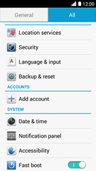 Huawei Ascend Y530 - Device maintenance - How to do a factory reset - Step 4