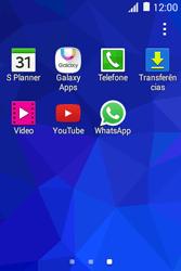 Samsung Galaxy Young II - Aplicações - Como configurar o WhatsApp -  4