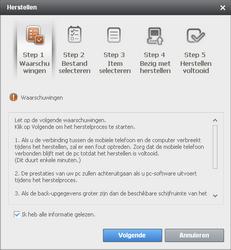 Samsung B7610 Omnia Qwerty - Software - Update installeren via PC - Stap 15