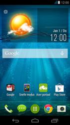 Acer Liquid Z500 - MMS - afbeeldingen verzenden - Stap 1