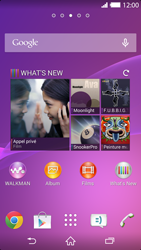 Sony Xperia Z2 - Contact, Appels, SMS/MMS - Ajouter un contact - Étape 1