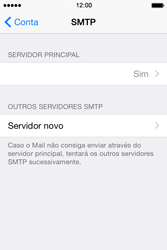 Apple iPhone 4S iOS 8 - Email - Configurar a conta de Email -  20