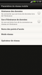 HTC One S - Aller plus loin - Désactiver les données à l'étranger - Étape 6