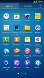 Samsung Galaxy S4 - Mensajería - Configurar el equipo para mensajes multimedia - Paso 3
