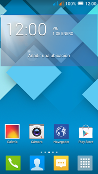 Alcatel Pop C9 - Bluetooth - Conectar dispositivos a través de Bluetooth - Paso 1