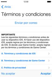Apple iPhone 4S iOS 7 - Primeros pasos - Activar el equipo - Paso 12