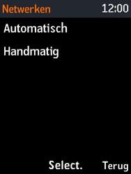 Nokia 3310 3G (TA-1022) - Netwerk selecteren - Handmatig een netwerk selecteren - Stap 7