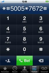 Apple iPhone 4 S - SMS - handmatig instellen - Stap 4