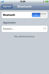 Apple iPhone 3G - Bluetooth - Aanzetten - Stap 4