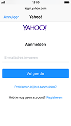Apple iPhone 5s - iOS 12 - E-mail - e-mail instellen (yahoo) - Stap 6