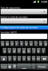 Huawei U8667 - Email - Como configurar seu celular para receber e enviar e-mails - Etapa 12