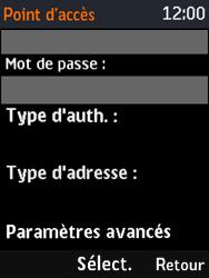 Nokia 3310 - Mms - Configuration manuelle - Étape 12