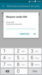 Samsung Galaxy Grand Prime - Segurança - Como ativar o código PIN do cartão de telemóvel -  7