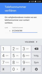 Samsung Galaxy S7 - Applicaties - Account aanmaken - Stap 8