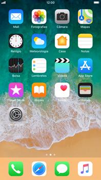 Apple iPhone 8 Plus - Aplicações - Como restaurar ou eliminar as aplicações nativas -  6