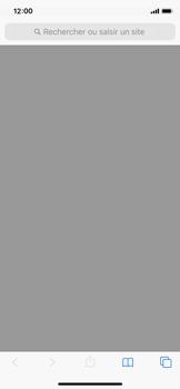 Apple iPhone X - iOS 13 - Internet - navigation sur Internet - Étape 2
