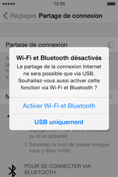 Apple iPhone 4 - Internet et connexion - Partager votre connexion en Wi-Fi - Étape 5