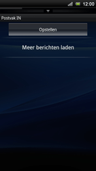 Sony Ericsson Xperia Neo V - E-mail - Handmatig instellen - Stap 5
