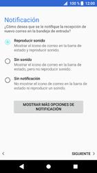 Sony Xperia XZ1 - E-mail - Configurar Outlook.com - Paso 14